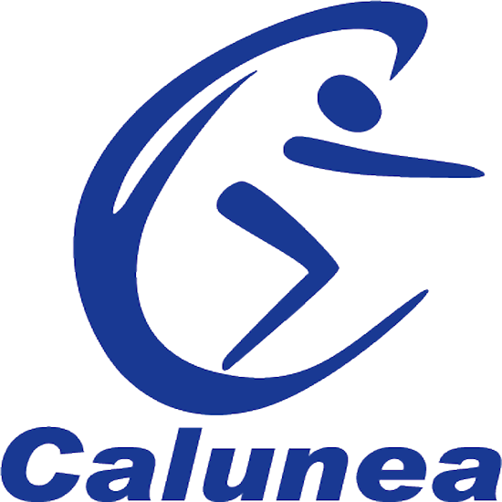 SQUARE AQUATIC DUMBBELLS YELLOW CALUNEA